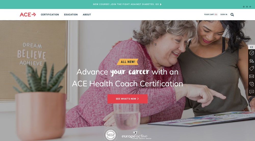 Ace Fitness Health Coach