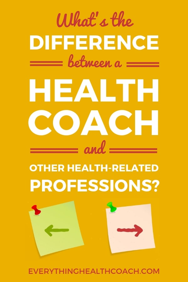 What Is The Difference Between A Health Coach And Nutritionist?