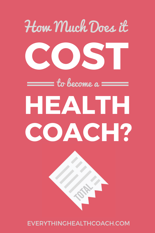 How Much Does It Cost to Become a Health Coach