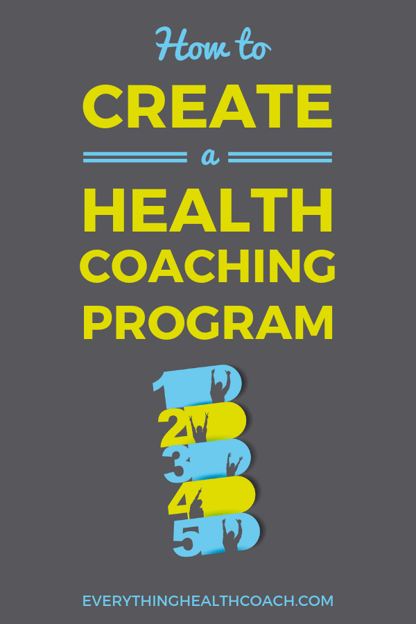 How To Create A Health Coaching Program