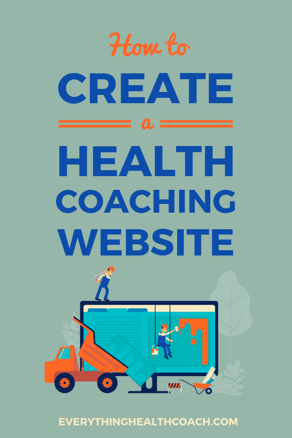 How To Create A Health Coaching Website
