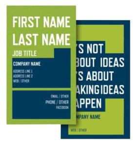 Health Coach Business Card Ideas - Example 10