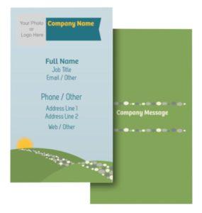 Health Coach Business Card Ideas - Example 4