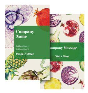 Health Coach Business Card Ideas - Example 5