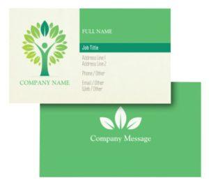 Health Coach Business Card Ideas - Example 7