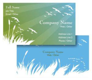 Health Coach Business Card Ideas - Example 8