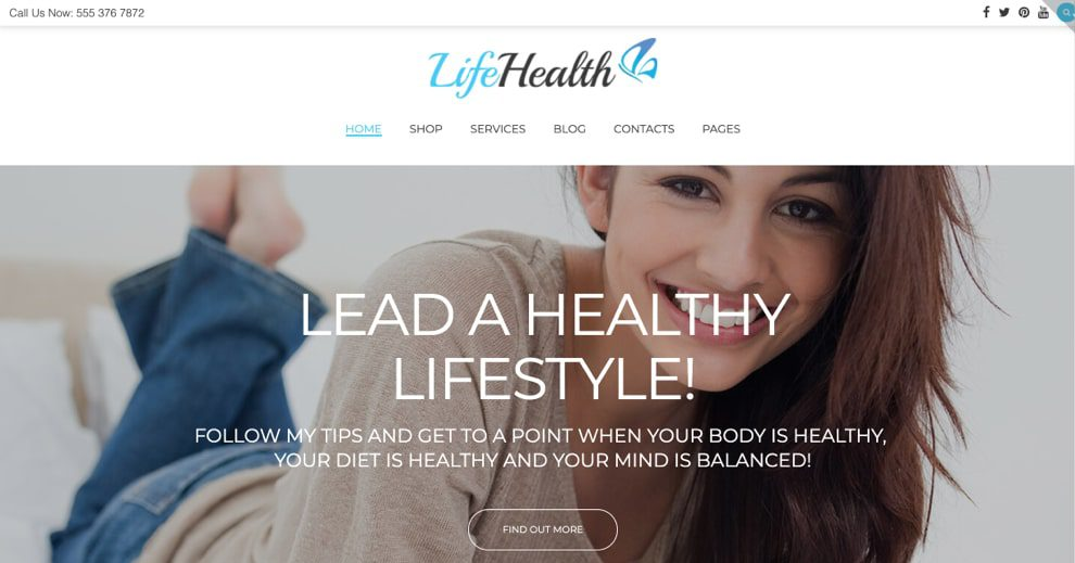LifeHealth By TemplateMonster